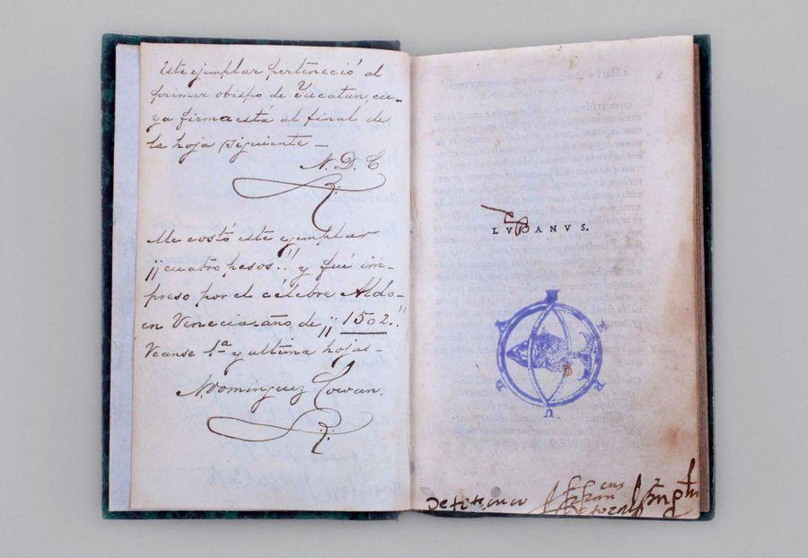 Marco Anneo Lucano, Pharsalia, Aldo Manuzio, Venecia, 1502, 280 páginas.
